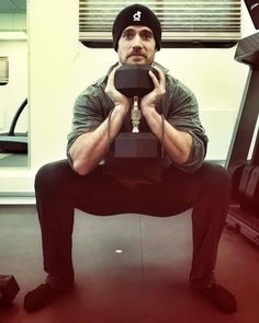 """Henry Cavill training in Paris, while filming """"Mission Impossible 6"""". He says he's a moustachioed frog :)"""
