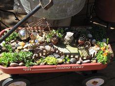 wagon gardening...