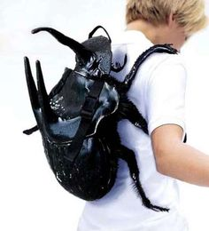 Beetle backpack from doctor who. I am so glad they make these!!!