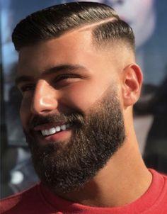 Trendy Simple Blonde Haircuts for Men Mens Haircuts Straight Hair, Haircuts For Balding Men, Mens Hairstyles With Beard, Blonde Haircuts, Cool Hairstyles For Men, Cool Haircuts, Beard Fade, Beard Look, Best Beard Styles