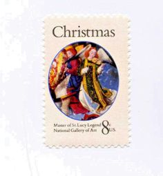 Mary Queen of Heaven Christmas 1972 Stamp 8c Postage MNH Scott #1471