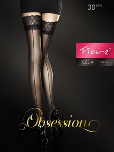 Fiore Obsession Sexy Thigh Highs Stay up stockings