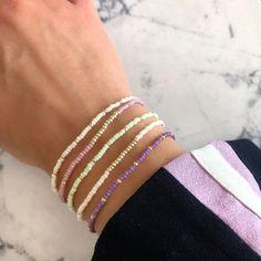 Beaded Jewelry, Handmade Jewelry, Diy Jewelry, Bracelet Making, Jewelry Making, Ring Armband, Purple Daisy, Diy Necklace, Cuff Bracelets