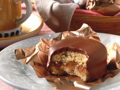 receta de alfajores de chocolate