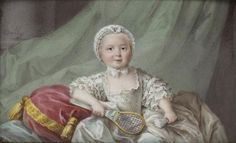 July 15th, to Louise Marie de France. Born in 1737, she was the youngest of ten children born to Louis XV and Maria Leszczyńska.