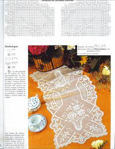 Muestras y Motivos ganchillo №104 салфетки, скатерти. Обсуждение на LiveInternet - Российский Сервис Онлайн-Дневников