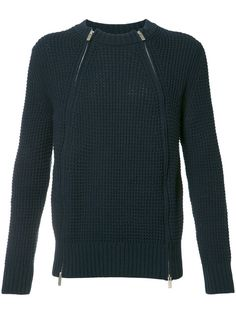 SACAI zipped sweater. #sacai #cloth #sweater