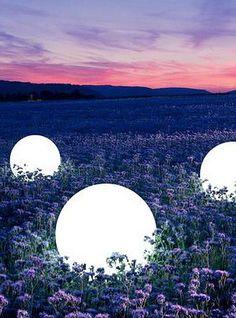 """Giant Orb Shell LED Lighting Prop 24"""""""