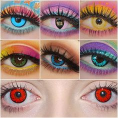 Colored Contact Lenses Photo