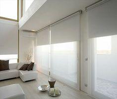 Double roller blinds   Remodelista