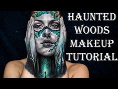 Haunted Woods Makeup Tutorial NYX FACE AWARDS 2016 ENTRY - YouTube