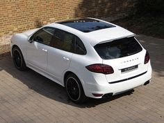 2013 (63) Porsche Cayenne GTS for sale | White with Umber & Cream