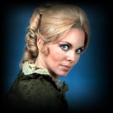 Lara Parker the Original Angelique.  Her fan club president was like me (Dark Shadows Pres)..really active in getting material out to the fans BEFORE electronic communication existed.