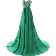 Dressystar Long Sweetheart Bridesmaid Prom Dresses Chiffon Evening Gowns