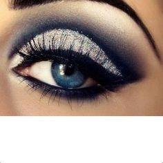 Eyeshadow for blue eyes!