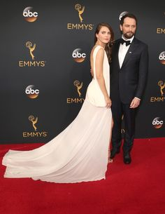 Steamy Americans couple (The Best Looks From The 2016 Emmys)