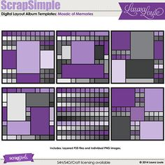 Fine Modern And Funky Digitalscrapbooking Layout Background Templates Largest Home Design Picture Inspirations Pitcheantrous