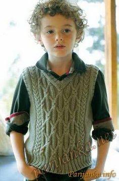 2017 Boys Sweaters Samples, # boysbabesweatersmodelsandmakes # boyschildrensweatersmodels or their construction # men's sweaters samples # knitting models or their […] Aran Knitting Patterns, Knitting Blogs, Knitting For Kids, Knit Patterns, Knitted Baby Clothes, Vest Pattern, Boys Sweaters, Knit Vest, Handmade Clothes