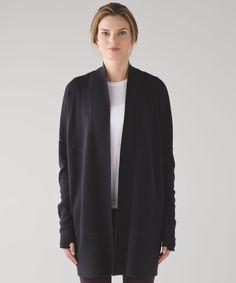 sit in lotus wrap   women's jackets + outerwear   lululemon athletica 10