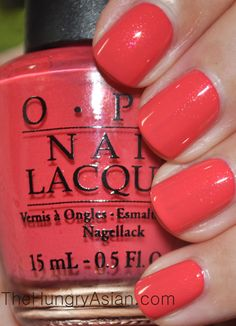 The Hungry Asian: OPI Touring America Collection Review and Swatches