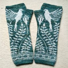 PDF Knitting Pattern - Songbird Mittens PDF Knitting Pattern - Mayfield Mitts Knitting , lace processing is the single most beautiful hobbies that ladies can no. Knit Mittens, Knitted Gloves, Knitting Socks, Hand Knitting, Fingerless Gloves Knitting Pattern, Knitted Mittens Pattern, Fair Isle Knitting Patterns, Knitting Charts, Hat Patterns