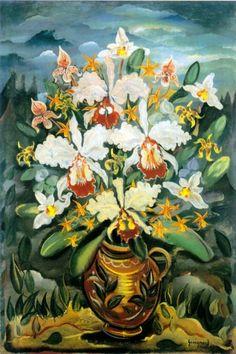 Sem título, 1937 Alberto da Veiga Guignard (Brasil, 1896-1962) óleo sobre tela, 61 x 51 cm Coleção Roberto Marinho
