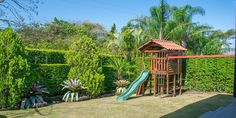 Beautiful kids garden at Sunville Home for sale in Santa Ana - Costa Rica http://lxcostarica.com/property/sunville-home-piedades-santa-ana