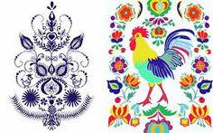 56e75f147 28 best Folk motifs images | Folk, Forks, Hand made