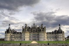 Castle of Chambord 'france   Largest castle of the Loire valley, it was built by the king François 1er between 1519 and 1547. This castle is typical of the French Renaissance architecture. In many ways, though, it is atypical : its interior structure with a double helix staircase in the center and the modern layout of the rooms makes it a curiosity.