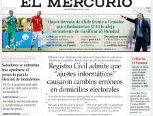 La prensa chilena no le perdonó los errores a la 'Roja' - El Comercio (Ecuador)