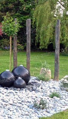 Barre de schiste naturelle pour créer un jardin minéral http://fr.jardins-animes.com/barre-schiste-piquet-ardoise-p-2504.html