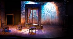 """Scenic Design for """"Theories of the Sun"""" by Eric Luchen for Sideshow Theatre Company"""