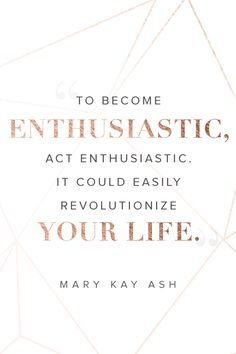 Don't just work for the weekend. Start a business you believe in at MaryKay.com/ICan.