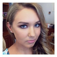 #Formalmakeup on this gorgeous girl!!  #makeup #smokeyeye #makeupartist #sydneymakeupartist