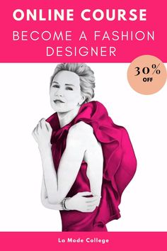 Dream Career, Dream Job, Fashion Illustration Template, Who Will Buy, Become A Fashion Designer, Fashion Courses, Evolution Of Fashion, Online Tutorials, Fashion Line
