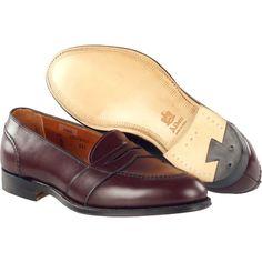 Alden Men's Full Strap Slip-On Calfskin Style #: 683 | #TheShoeMart #Alden #Shoes