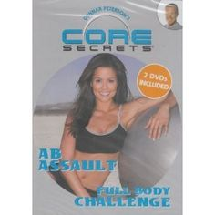 Gunnar Peterson's CORE SECRETS 2 DVD SET: FULL BODY CHALLENGE   AB ASSAULT with Brooke Burke >>> To view further for this item, visit the image link. (This is an affiliate link) Brooke Burke, Body Challenge, Dvd Set, Acupressure, Homeopathy, Natural Medicine, Get Healthy, Full Body, Natural Health