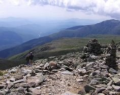 Mt. Washington in NH: It is a challenging ascent that was called one of the most dangerous hikes in the U.S. (because of wind and unpredictable weather conditions) by Backpacker Magazine.