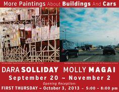 Dara Solliday & Molly Magai at ROOM 104 Gallery