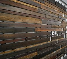 Salvaged - Woodwall Installation