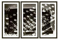 Vanity Fair, Type Writer Triptych