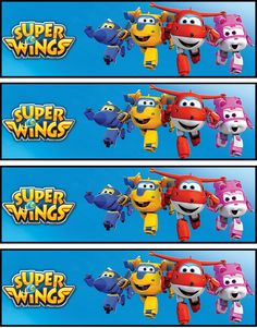 Bookmarks 2nd Birthday Party Themes, Birthday Backdrop, First Birthday Parties, Birthday Party Decorations, 3rd Birthday, First Birthdays, Imprimibles Super Wings, Imprimibles Paw Patrol, Planes Party