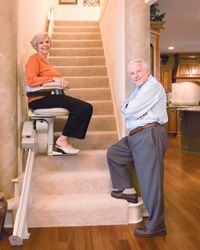 Awesome Indy Lux Stair Lifts: Residential Stairlifts, Chair Stair Lift
