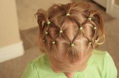 I do this to my daughter's hair all the time. It will stay for up to three days with washing her hair everyday.