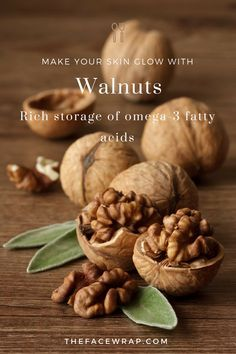 Walnuts are now used within the make-up and beauty trade more than ever. Their rich stores of omega-3 fatty acids not only preserve your skin's wholesome glow, but in addition reduce inflammation. Articles - TheFaceWrap.com