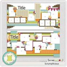 Templates - Let's get this started - Page 7 - MouseScrappers.com