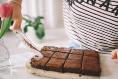 The Ultimate Brownies with sweet potato