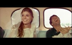 the graduate. the end scene made me cry so much - ahh this was a wonderful love story and simon and garfunkel are amazing by the way in case you haven't heard :o)
