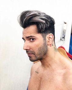 Oval Face Men, Oval Faces, Bollywood Actors, Bollywood Celebrities, Varun Dhawan, New Look, Hair Color, Cute, January