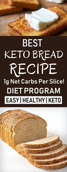 Keto Recipes No Eggs. If You Require Help With Keto Food Preparation, Read Through This. No Bread Diet, Best Keto Bread, Best Keto Diet, Low Carb Bread, Ketogenic Diet Meal Plan, Diet Plan Menu, Ketogenic Diet For Beginners, Ketogenic Recipes, Beginners Diet